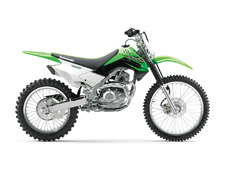 The all-new KLX®140G offers a comfortable fit and a reliable, confidence-inspiring ride with larger wheels that's ideal for off-road adventures. Light overall weight and roomy ergonomics make learning easier, allowing riders to focus on fun, while the dependability and low-maintenance of the KLX140G make it the ultimate companion on the trail.